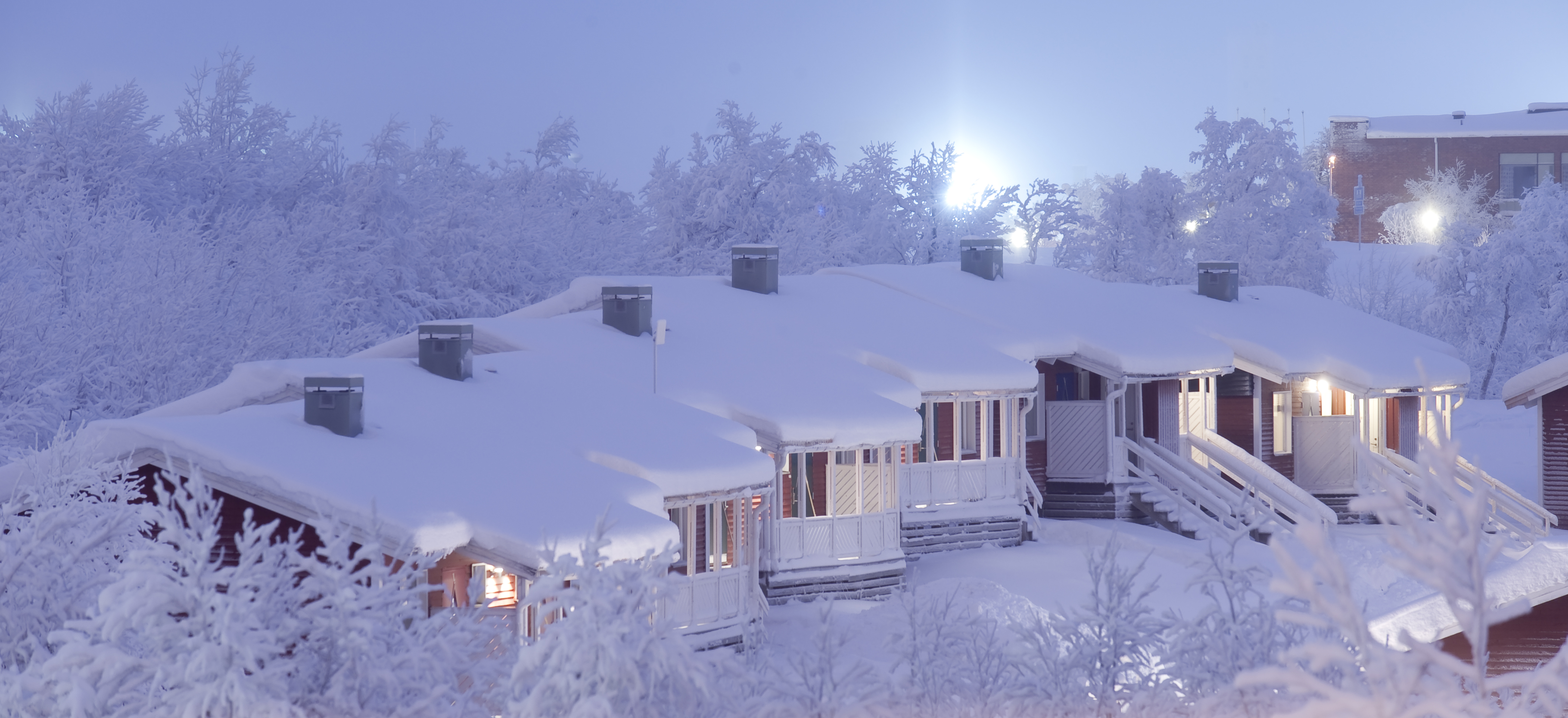 Snow Covered Cabins Nordic Experience