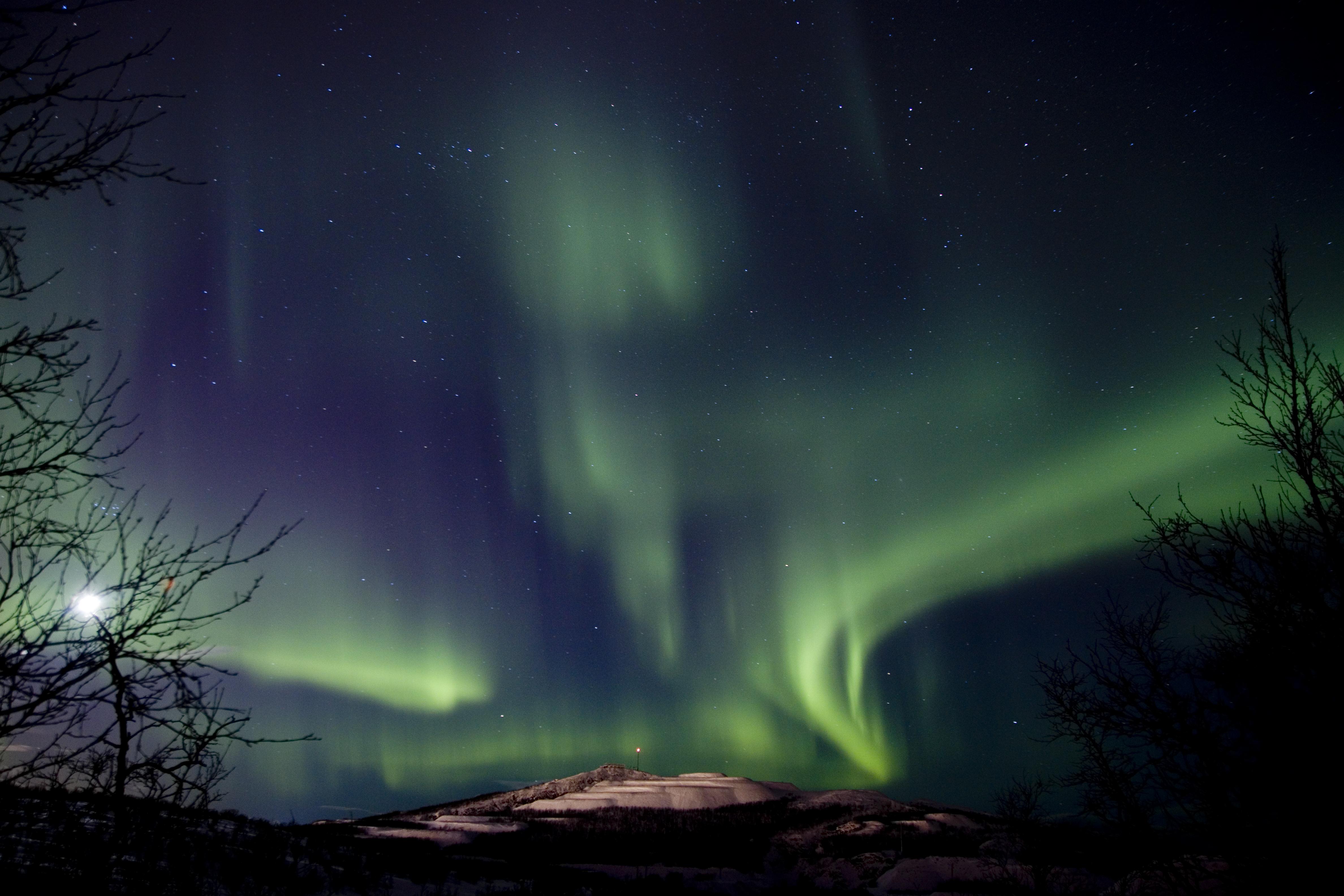 Northern Lights - Camp Ripan
