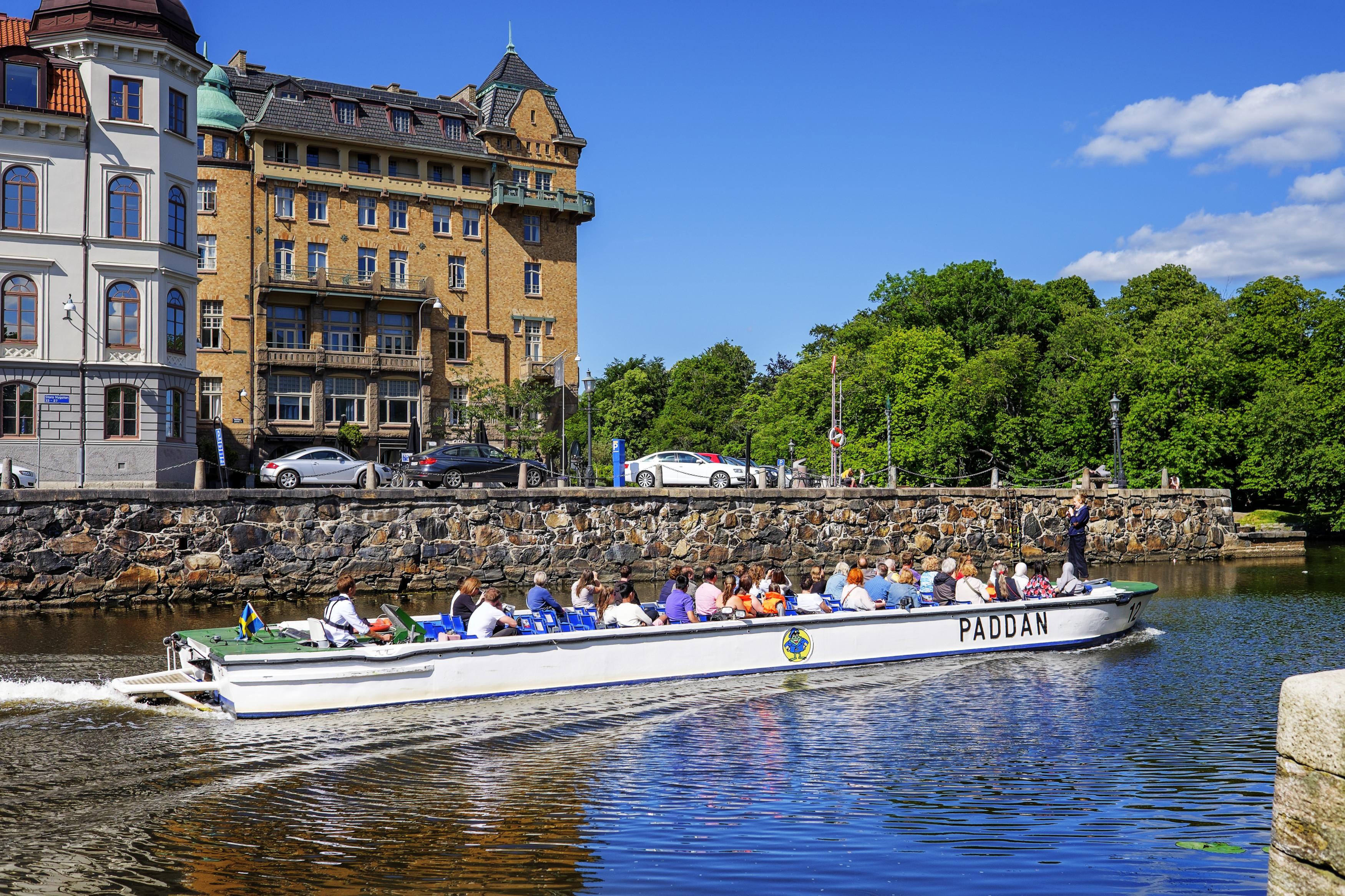 Gothenburg - Paddan Boat