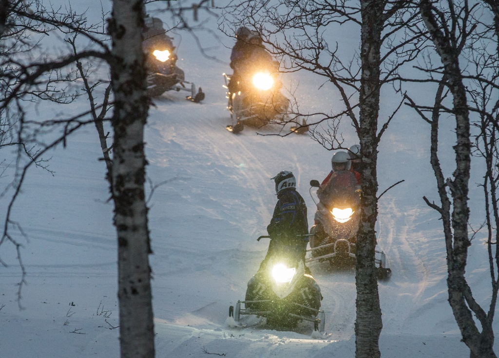 Snowmobile Safari  - Malangen