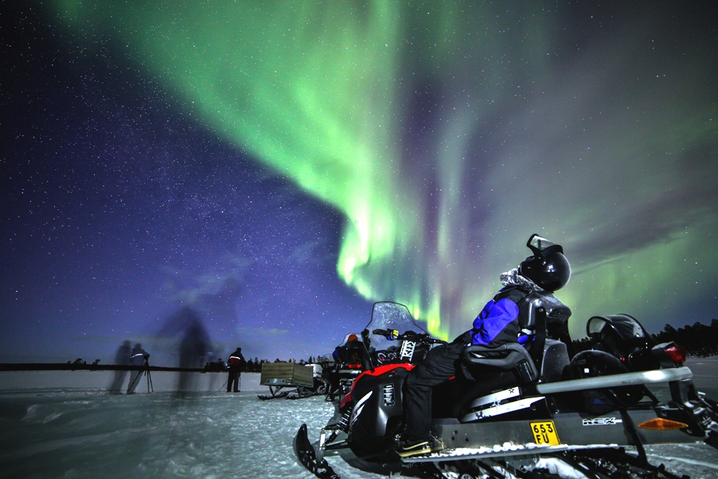 Northern Lights By Snowmobile Nordic Experience