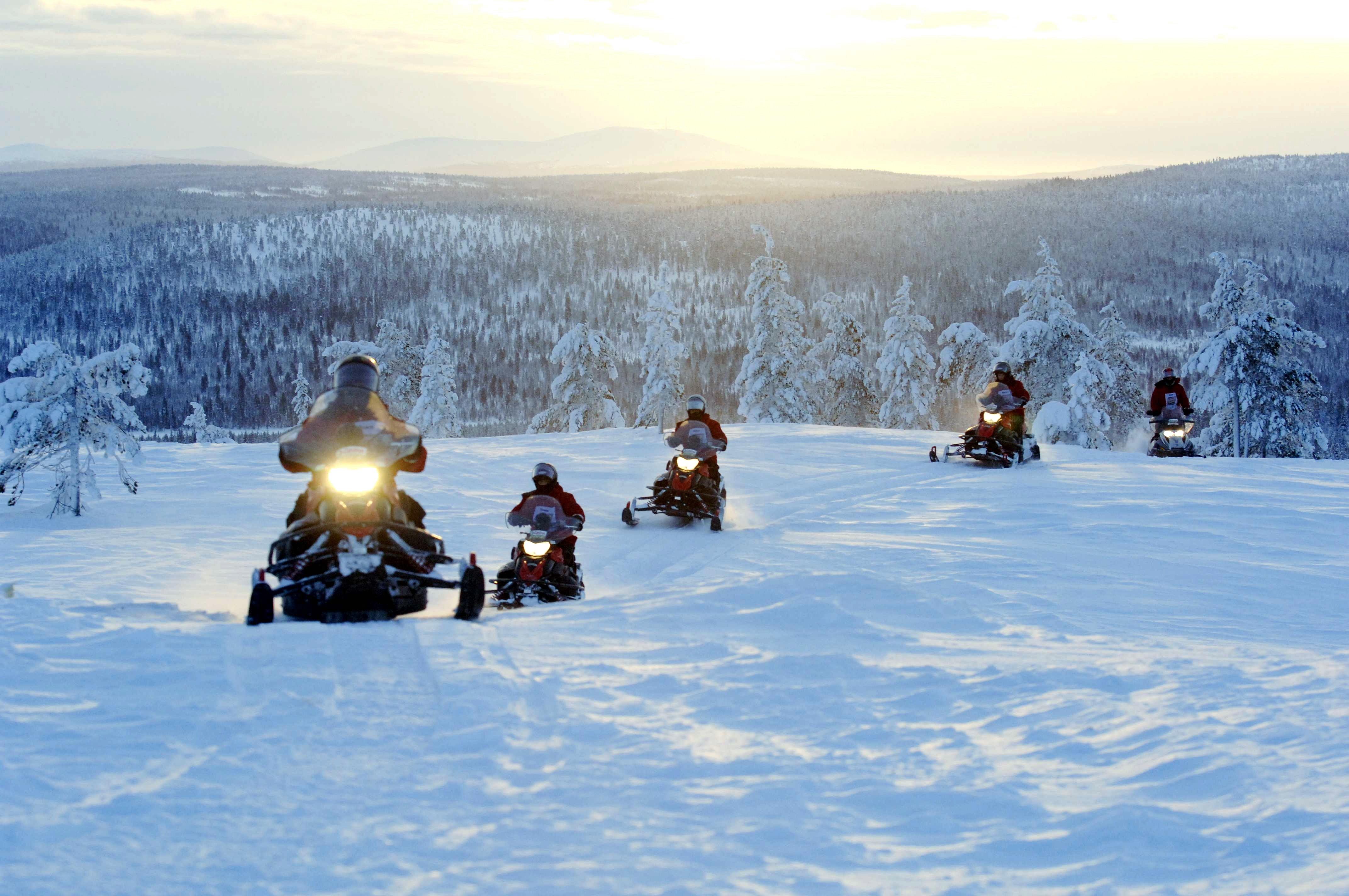 Snowmobile Safari Nordic Experience